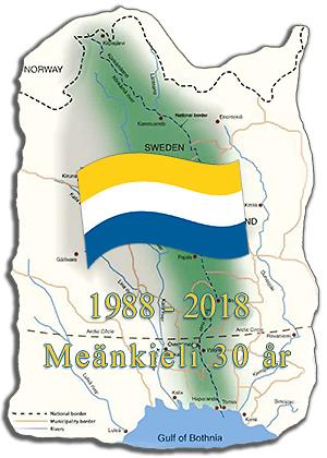 Karta Sverige Pajala.Meanmaa